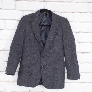 Harris Tweed Men's 2 Button Blazer Anderson Little